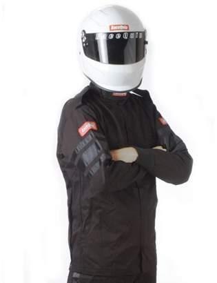 Racequip Safequip Black 4X-Large 111 Series Driving Jacket P/N 111009