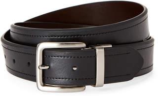 Nautica Cognac & Black Reversible Belt