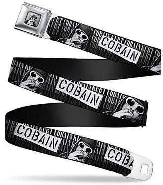 Buckle-Down Men's Seatbelt Belt W L