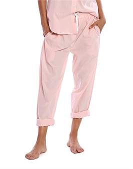 Papinelle Whale Beach Cotton Long Lounge Pant
