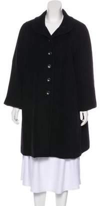 8f27c9e6b4ff Armani Collezioni Virgin Wool & Cashmere-Blend Coat
