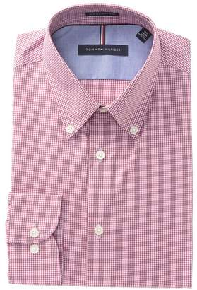 Tommy Hilfiger Mini Check Slim Fit Dress Shirt