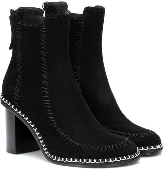 J.W.Anderson Scare Crow suede ankle boots