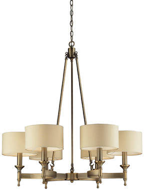 Elk Lighting 6-Light Drum Chandelier