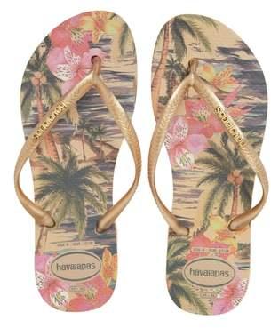 Havaianas 'Slim Tropical' Flip Flop