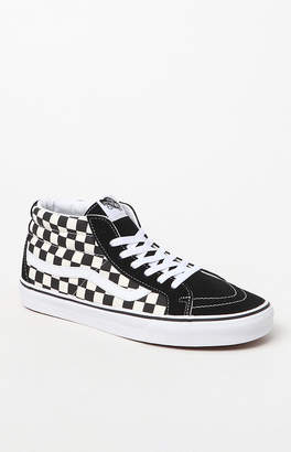 Vans Sk8-Mid Reissue Checkerboard Shoes