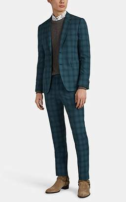 Paul Smith Men's Kensington Plaid Worsted Wool Two-Button Suit - Green
