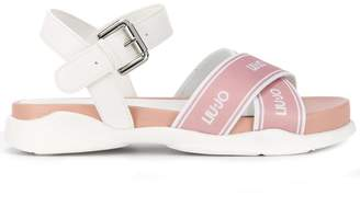 Liu Jo crossover strap sandals