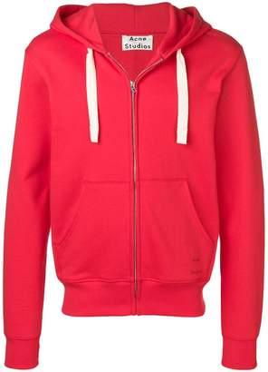 Acne Studios slim fit hooded sweatshirt