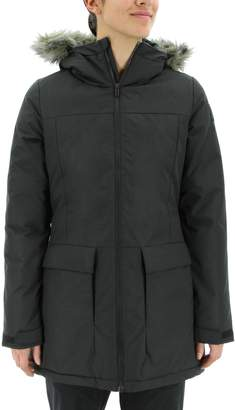 adidas Outdoor Women's Outdoor Xploric Hooded Faux-Fur Trim Parka