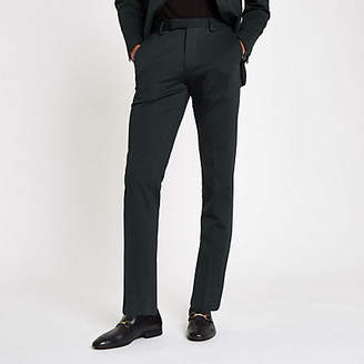 River Island Jack and Jones Premium green suit pants