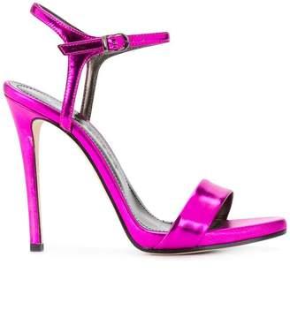 Marc Ellis metallic open-toe sandals