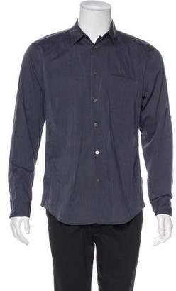 John Varvatos Linen Button-Up Shirt