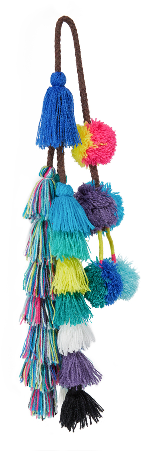 MISA Sayeh Pom Pom Bag Charm 3