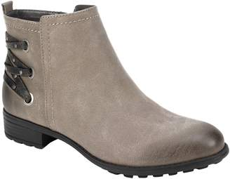 White Mountain Size Zipper Ankle Booties - Riley