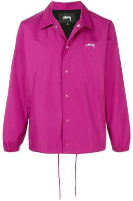 Stussy button shirt jacket