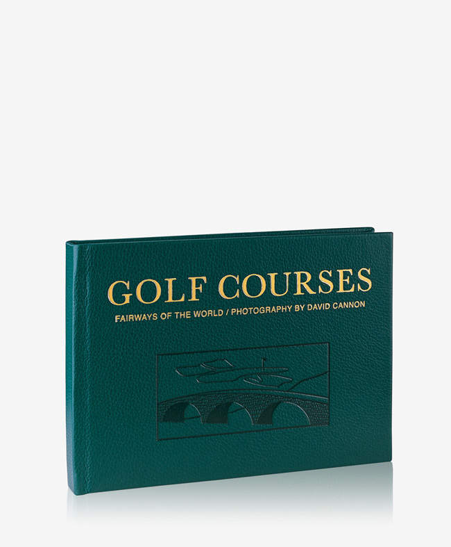 Golf Courses: Fairways of the World Traditional Leather