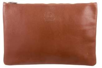 Ghurka Grained Leather Zip Pouch