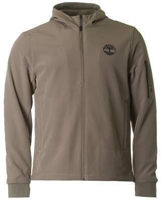 Timberland Soft Shell Zip Through Hooded Jacket