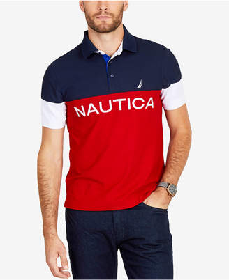 Nautica Men's Big & Tall Classic Colorblocked Polo