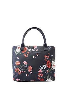 Joules Womens Carriwell Canvas Grab Handle Printed Hand Bag f43a106fbfde6