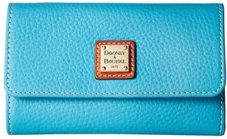 Dooney & Bourke Pebble Flap Wallet Wallet Handbags