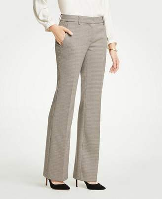 Ann Taylor The Petite Madison Trouser In Check