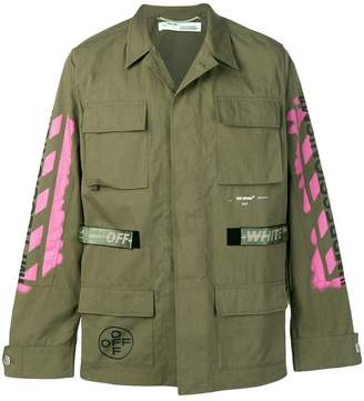 Off-White military lightweight jacket