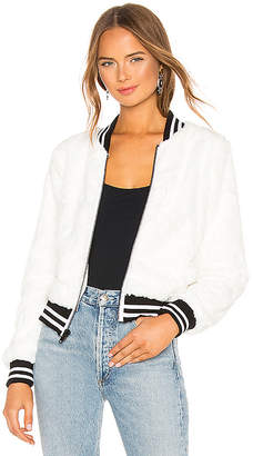 Bailey 44 Back Country Faux Fur Bomber Jacket