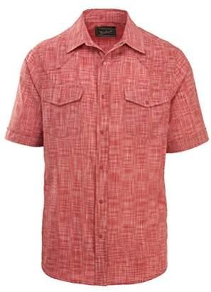 Woolrich Men's Altitude Ii Short Sleeve Modern Fit Shirt