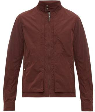 Belstaff Grove Water Repellent Zip Through Jacket - Mens - Dark Red