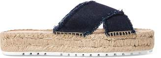 Ralph Lauren Kit Denim Espadrille
