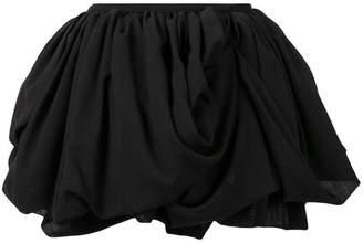 Ann Demeulemeester ruched mini skirt