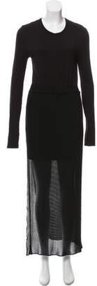 Avelon Long Sleeve Maxi Dress