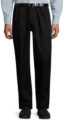 ST. JOHN'S BAY Stretch Iron Free Expandable Waist Pleat Pant