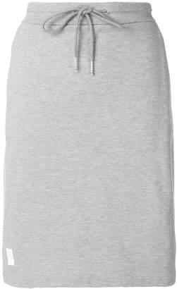 Thom Browne Rwb Stripe Piqué Skirt