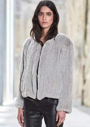 Frame H Brand Elle jacket in ash (S/M)