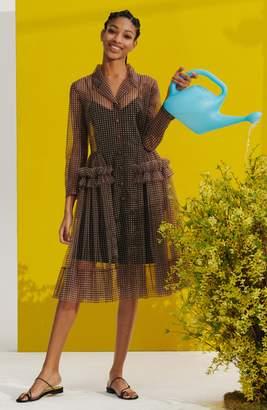 Tiffany & Co. Molly Goddard Gingham Tulle Coat