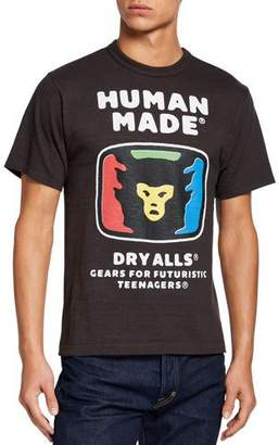 HUMAN MADE Men's 1711 Dry Alls Graphic T-Shirt