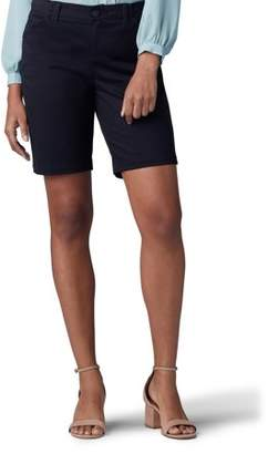 Lee Jeans Women's Regular Fit Chino Bermuda Shorts