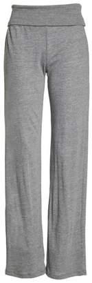 Alternative Eco Fold-Over Waist Lounge Pants