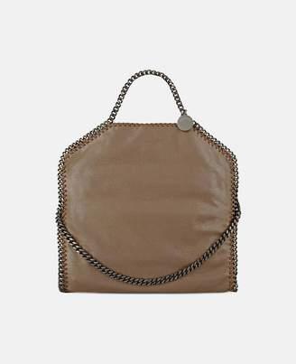 Stella McCartney falabella chamois fold over tote
