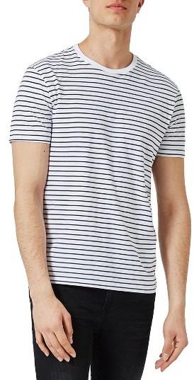 Men's Topman Stripe T-Shirt
