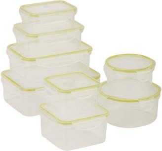 Honey-Can-Do Snap-Tab 8Pc Food Storage Set