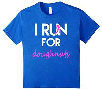 I Run for Doughnuts workout fitness T-Shirt