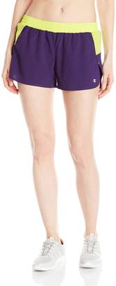 Champion Women's Sport Short 5, Black/ Grey