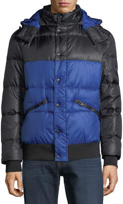 Body Glove Men's Down Parka Soft Touch Jacket