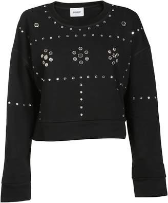 Dondup Embellished Cropped Sweatshirt