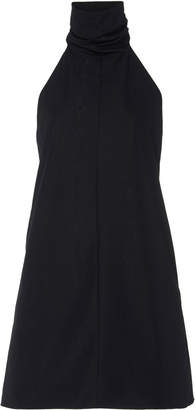 Cushnie Cotton Halterneck Mini Dress Size: 0