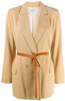 Forte Forte double-breasted fitted blazer